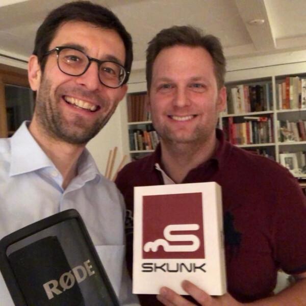 """Neuer Podcast """"Glück oder Können?"""". Dieses Mal mit Markus Goop von der Eventagentur Skunk - Pocast """"Glück oder Können?"""" mit Markus Goop von Skunk"""