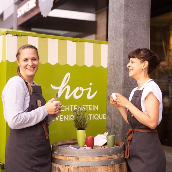 Julia Berginz ist neu Co-Geschäftsführerin im Hoi-Laden - Julia Berginz ist neu Co-Geschäftsführerin im Hoi-Laden
