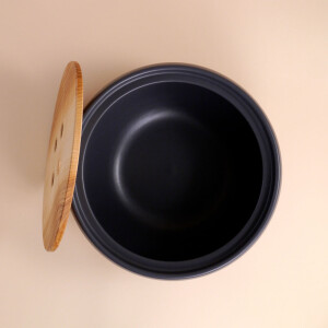 EM Keramik Brottopf: Klein Anthrazit