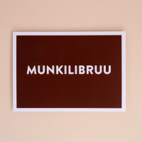 Postkarte «Munkilibruu»