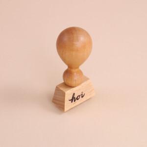 Stempel «Hoi» Holz