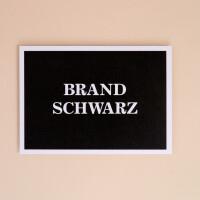 "Postkarte ""Brandschwarz"""