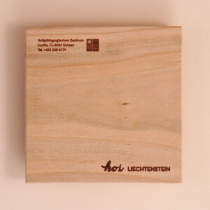 Untersetzer Holz Krone