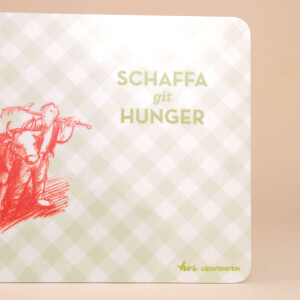 "Znünibrettchen: ""Schaffa git Hunger"""