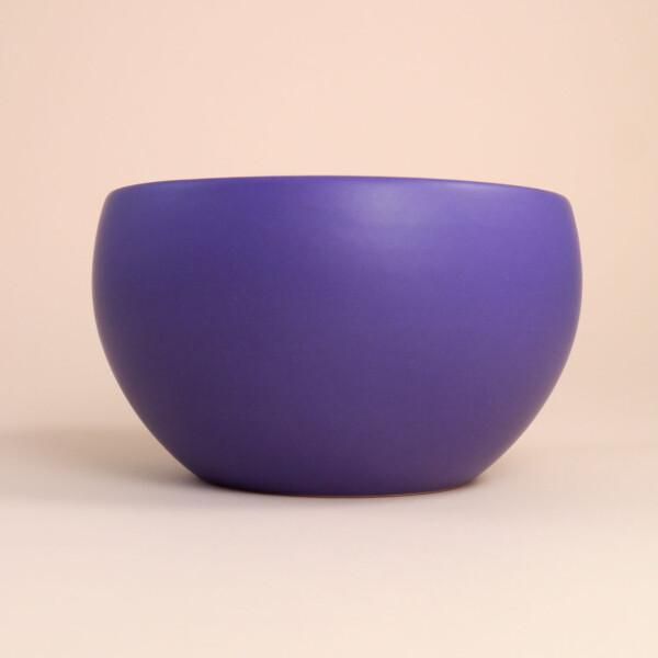 EM Keramik Zwiebeltopf Violett
