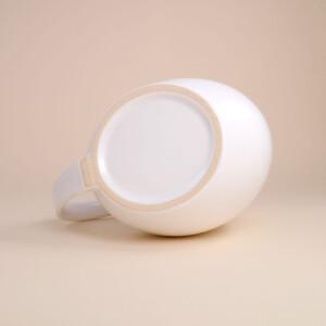 EM Keramik Pinguinkrug 2,5 L Weiss glänzend