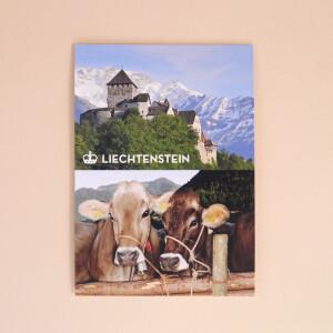 """Postkarte """"Schloss & Buschla"""""""