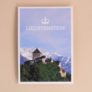 """Postkarte """"Liechtenstein Schloss"""""""