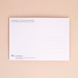 "Postkarte ""Last Monarchy"" Krone"