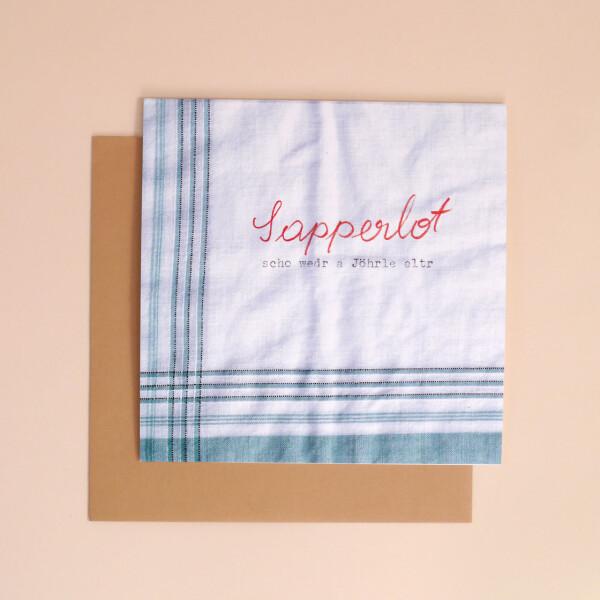 Klappkarte_Dialekt_Sapperlot