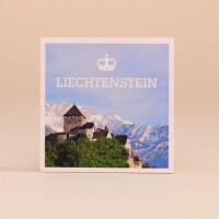 Holzmagnet Schloss Vaduz Liechtenstein