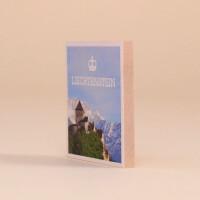 Holzmagnet Liechtenstein Schloss