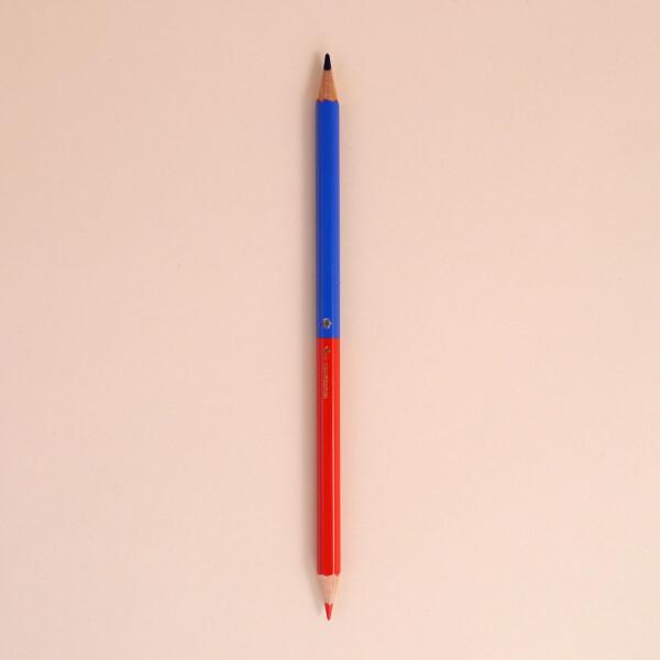 Malstift Bleistift Flagge Liechtenstein