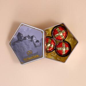 Fürstenhütchen, klassisch Box Klein ( 3 Pralinen)
