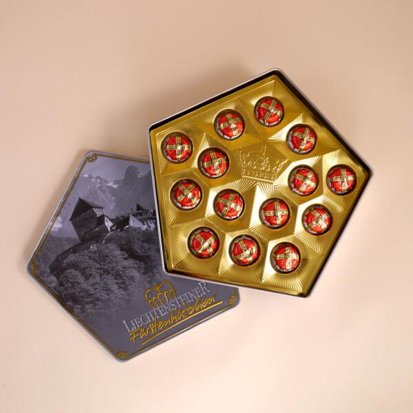 Fürstenhütchen, klassisch Box Gross (28 Pralinen)