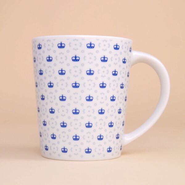 """Tasse Porzellan """"Fürst"""": Blau"""