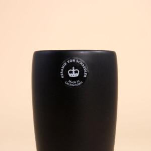 EM Keramik Becher: 3 dl Schwarz