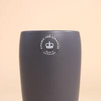 EM Keramik Becher: 3 dl Anthrazit