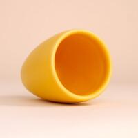EM Keramik Becher: 3 dl Sonnengelb
