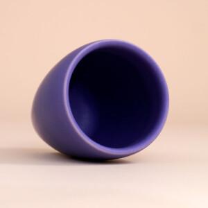 EM Keramik Becher: 3 dl Violett