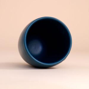 EM Keramik Becher: 3 dl Petrol