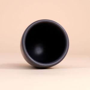 EM Keramik Becher: 1,5 dl Anthrazit