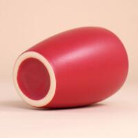 EM Keramik Becher: 1,5 dl Rot