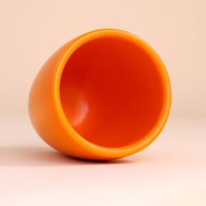 EM Keramik Becher: 1,5 dl Orange