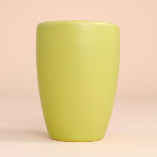 EM Keramik Becher: 1,5 dl Hellgrün