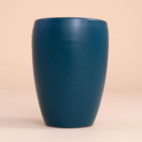 EM Keramik Becher: 1,5 dl Petrol