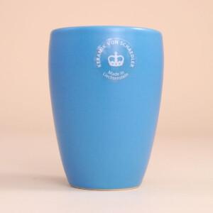 EM Keramik Becher: 1,5 dl Hellblau