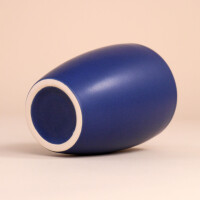 EM Keramik Becher: 1,5 dl Dunkelblau