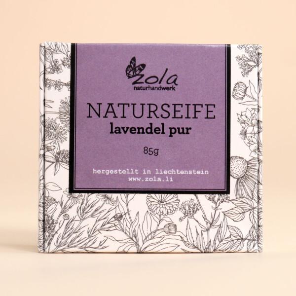 Seife zola - naturhandwerk: Lavendel Pur