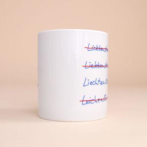 """Tasse Porzellan """"Es gibt nur ein..."""""""