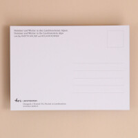"Postkarte ""Malbun- Jahreszeiten"""