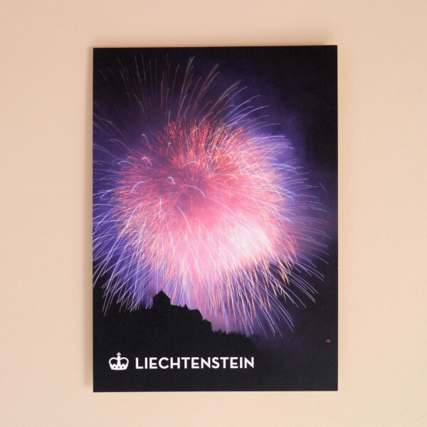"""Postkarte """"Feuerwerk"""""""