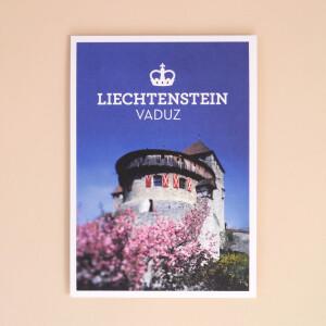 """Postkarte """"Vaduz Schlossblick"""""""
