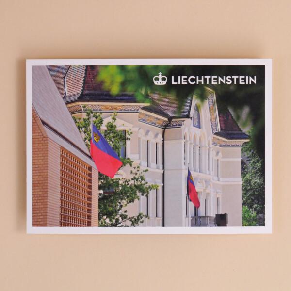 Postkarte «Regierungsgebäude»