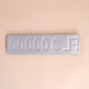 Autonummernschild FL: Klein