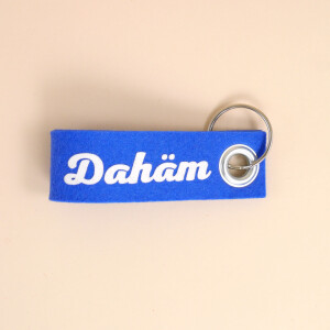 Schlüsselschlaufe Filz: «Dahäm»