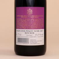 Hofkellerei Vaduzer Pinot Noir Bocker 75cl