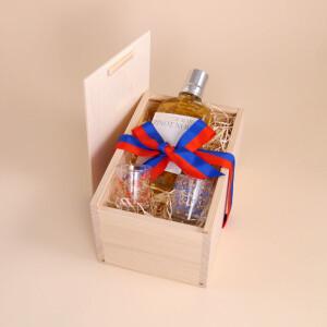 Geschenkbox: Vaduzer Marc & Schnapsgläsle