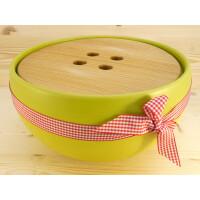 EM Keramik Brottopf: Gross Hellgrün