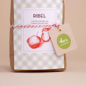 """Ribel-Set (""""Rebl"""", Kochlöffel und Rezept)"""