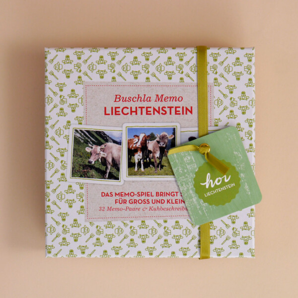 Liechtensteiner Buschla Memo-Spiel