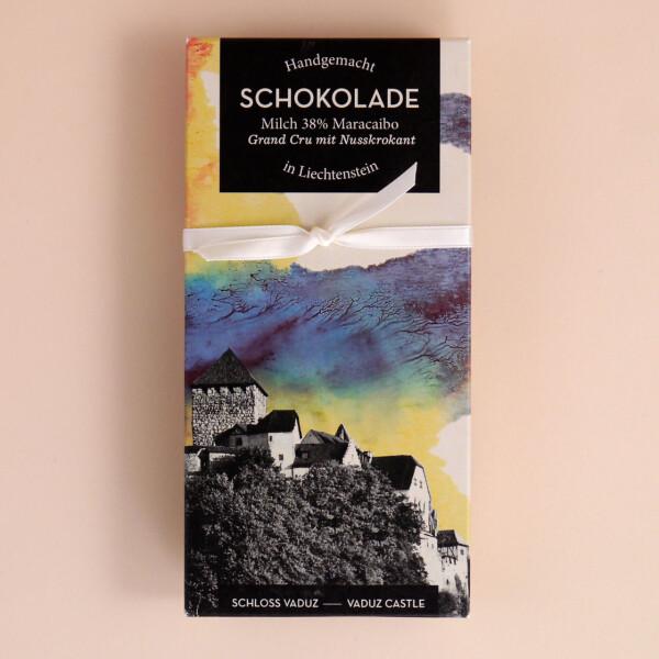 Schokolade Schloss Vaduz: Nuss