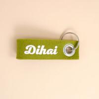 Hoi Schweiz Schlüsselschlaufe Filz: «Dihai»