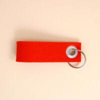 Schlüsselschlaufe Filz: «Dihai» Rot