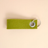 Schlüsselschlaufe Filz: «Dihai» Grün