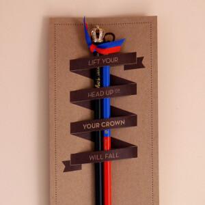Bleistiftset Liechtenstein Krone